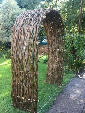Rustic Woven Arch