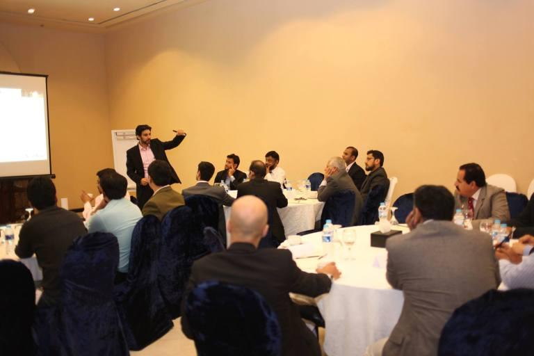 Delivering a workshop on CEM