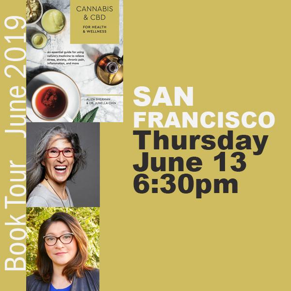 Cannabis Book Tour San Francisco