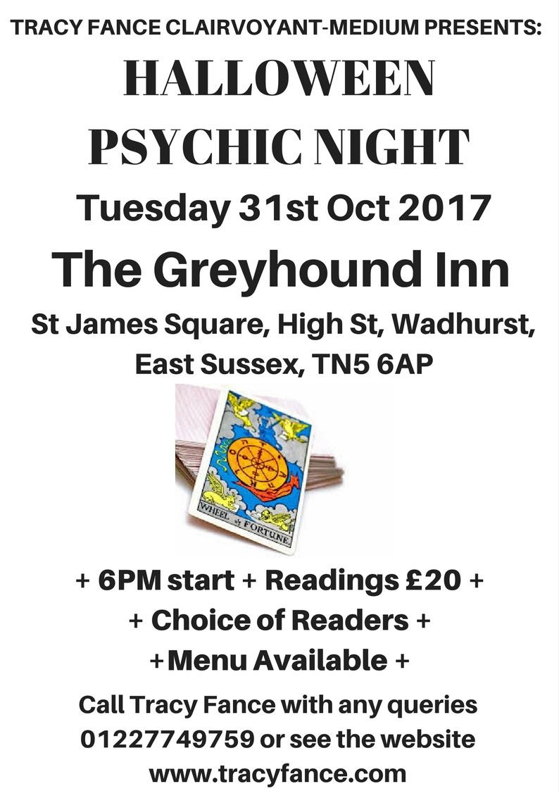 Psychic Night Poster