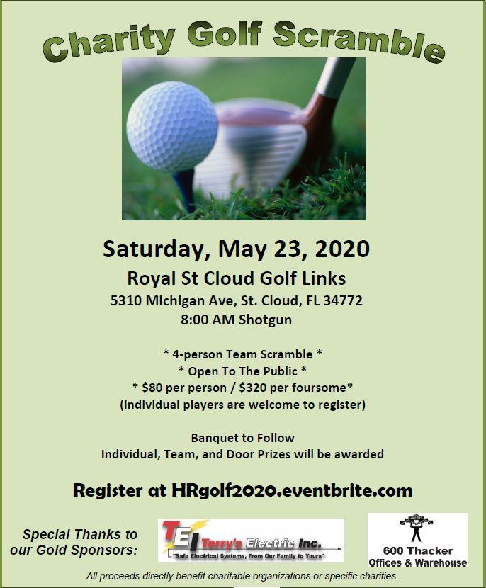 Golf Flyer Image