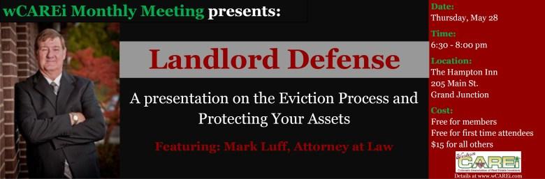 Landlord Defense - Mark Luff