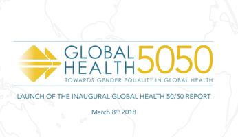 Image result for global health 50/50