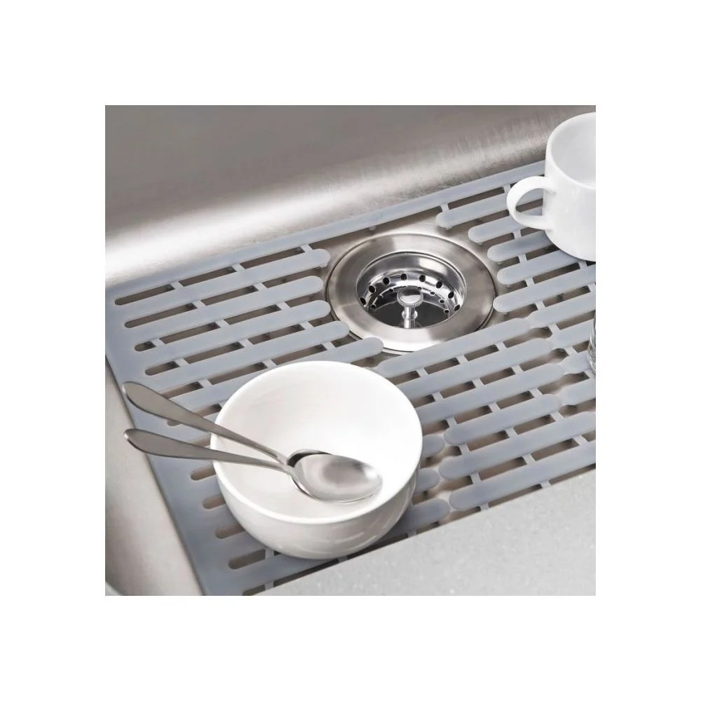 oxo silicone sink mat large