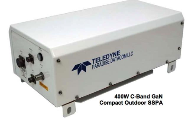 500 watt gan sspa improves size to