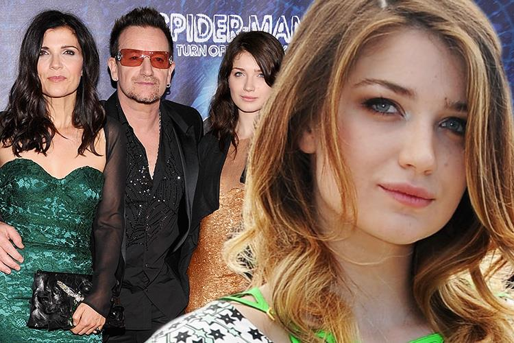 Bonos Daughter Eve Hewson Says Her Parents Saw Her In Sex