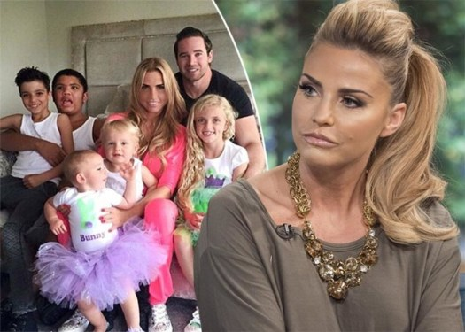 Katie Price fears her children could be KIDNAPPED after ...