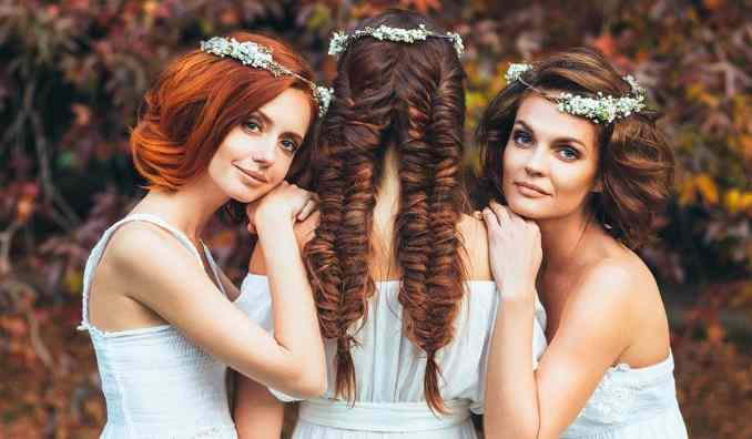 these are the best wedding hair styles for your face shape