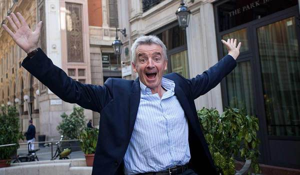 Michael O'Leary Forces Way Onto Forbes' Billionaire List