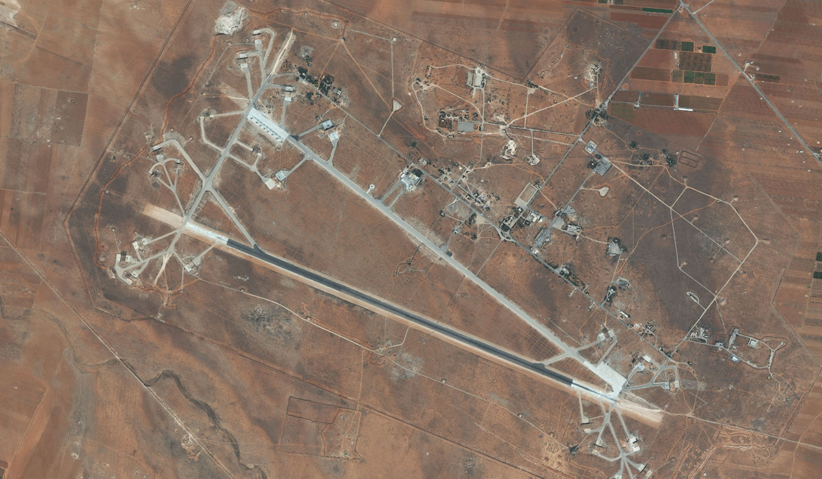 Syrian Air Base After