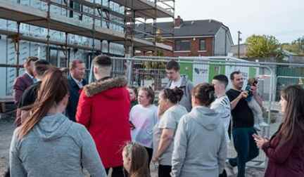 Image result for Conor mcgregor social housing