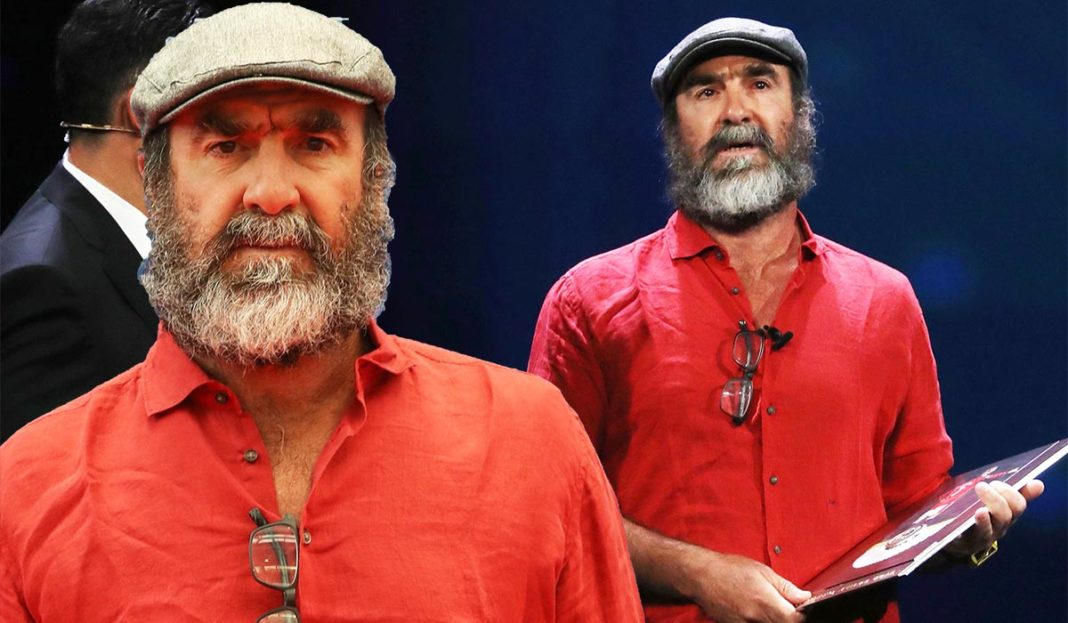 Cantona was handed the president's award, and paused for a moment before slightly misquoting the earl of gloucester in king lear as a bemused. Eric Cantona eternal life speech leaves everyone stumped