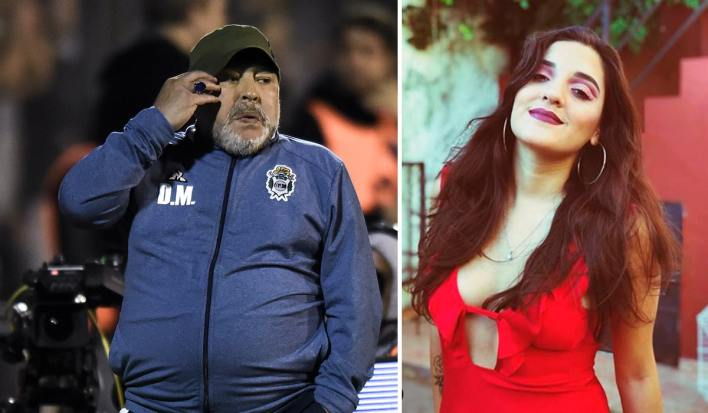Diego Maradona's Daughter Hoping To Make It Big As A Lingerie Model