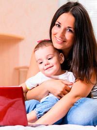 Natalia e hijos