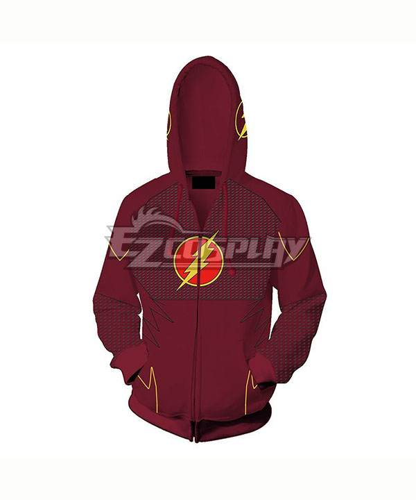 DC Comics The Flash Barry Allen Coat Hoodie Cosplay Costume