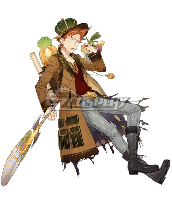 Atelier Sophie: The Alchemist of the Mysterious Book Oskar Behlmer A18 Cosplay Costume