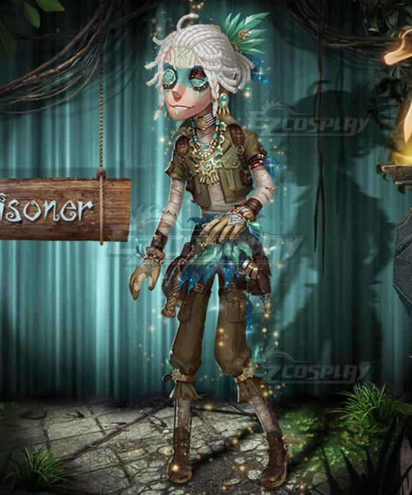 Identity V Prisoner Luca Balsa The Viper Halloween Cosplay Costume