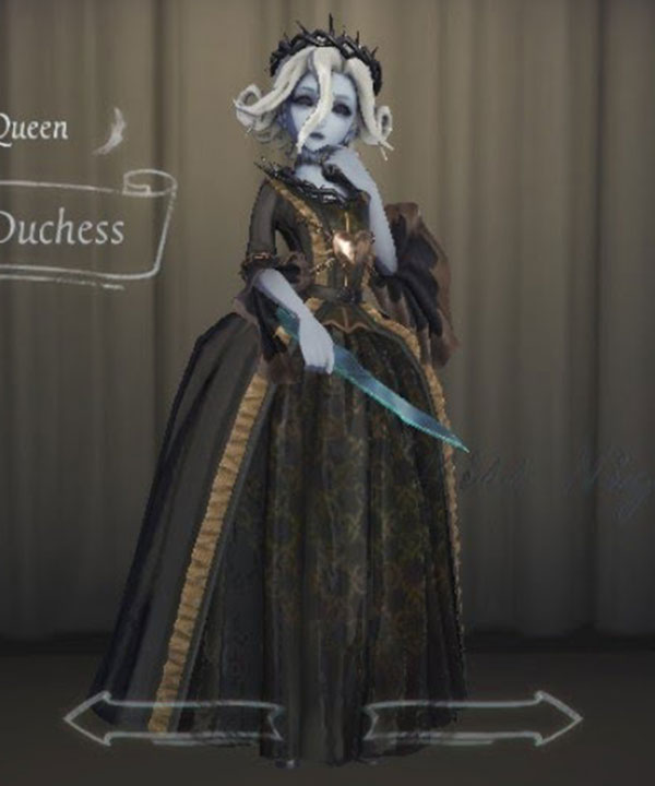 Identity V Bloody Queen Mary Accused Duchess Halloween Cosplay Costume