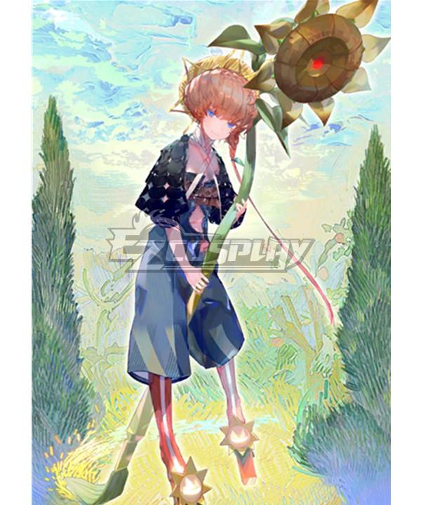 Fate Grand Order Foreigner Vincent Willem van Gogh Stage1 Cosplay Costume