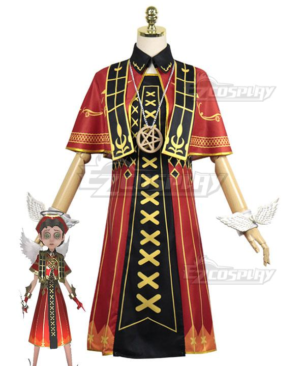 Identity V Doctor Emily Dyer Flaming Angel Halloween Cosplay Costume