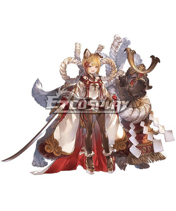 Granblue Fantasy Vajra Cosplay Costume