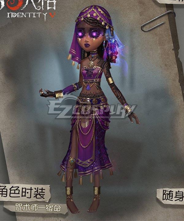 Identity V Enchantress Patricia Dorval Fate Halloween Cosplay Costume