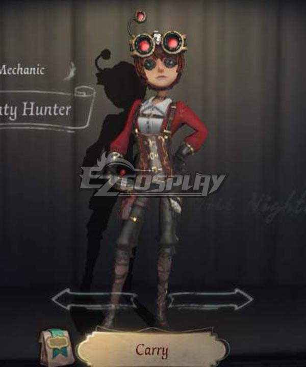 Identity V Mechanic Tracy Reznik Bounty Hunter Halloween Cosplay Costume