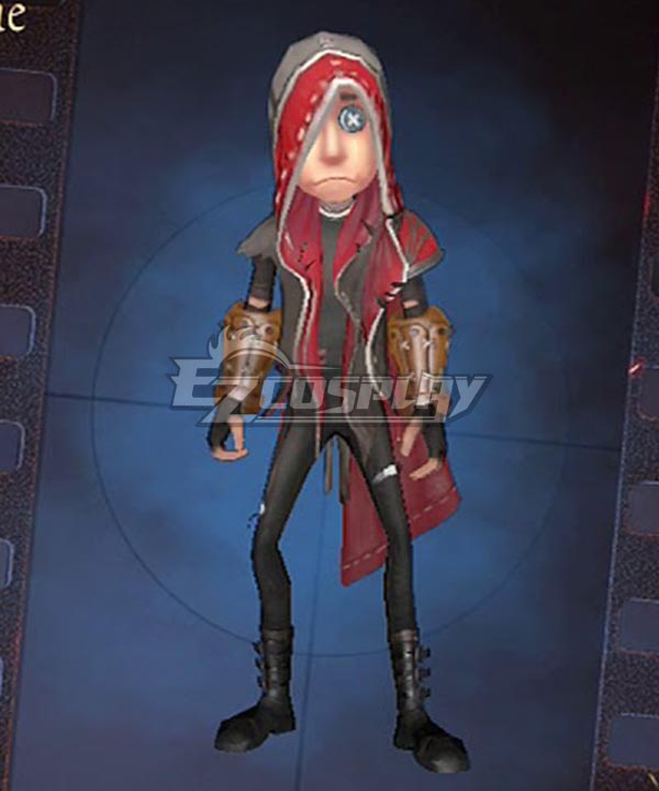 Identity V Mercenary Naib Subedar Cloak Halloween Cosplay Costume