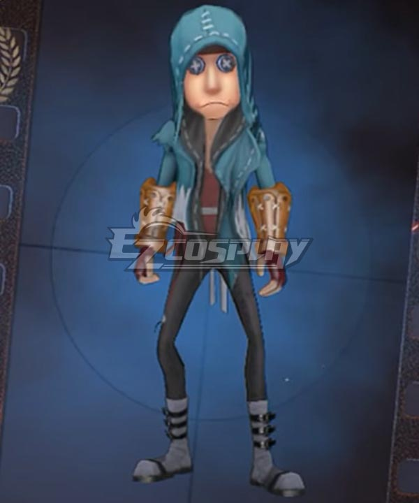 Identity V Mercenary Naib Subedar Miburo Recruit Halloween Cosplay Costume
