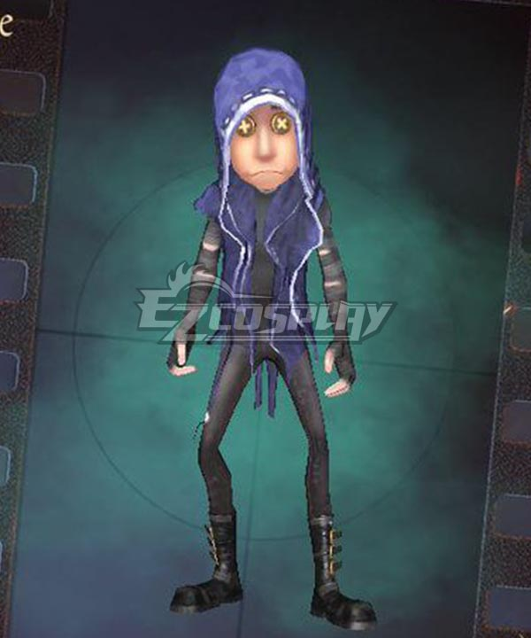 Identity V Mercenary Naib Subedar Gloom Halloween Cosplay Costume