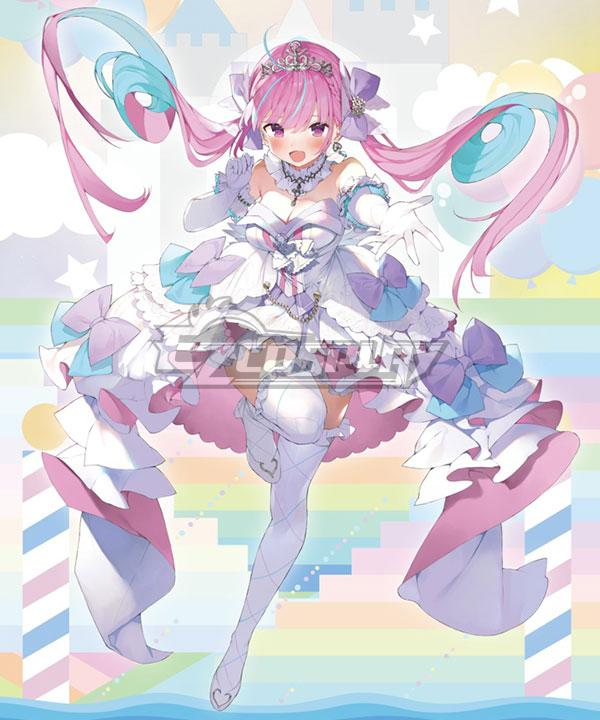Holdlive Virtual YouTuber Minato Aqua Second Anniversary Cosplay Costume