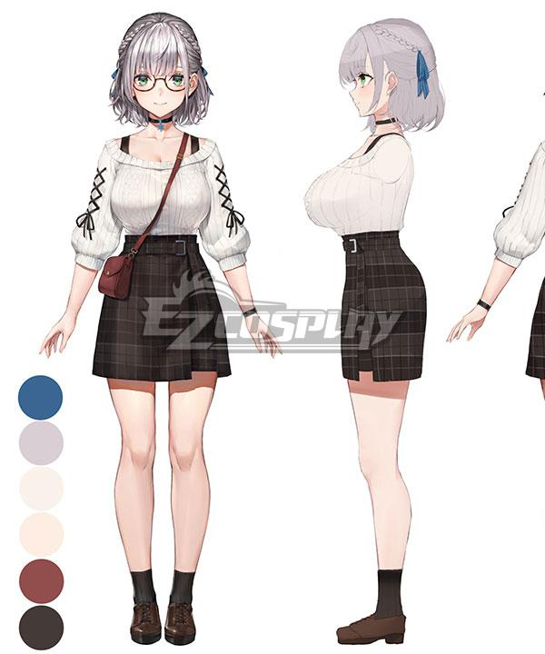 Holdlive Virtual YouTuber Shirogane Noel Daily Cosplay Costume