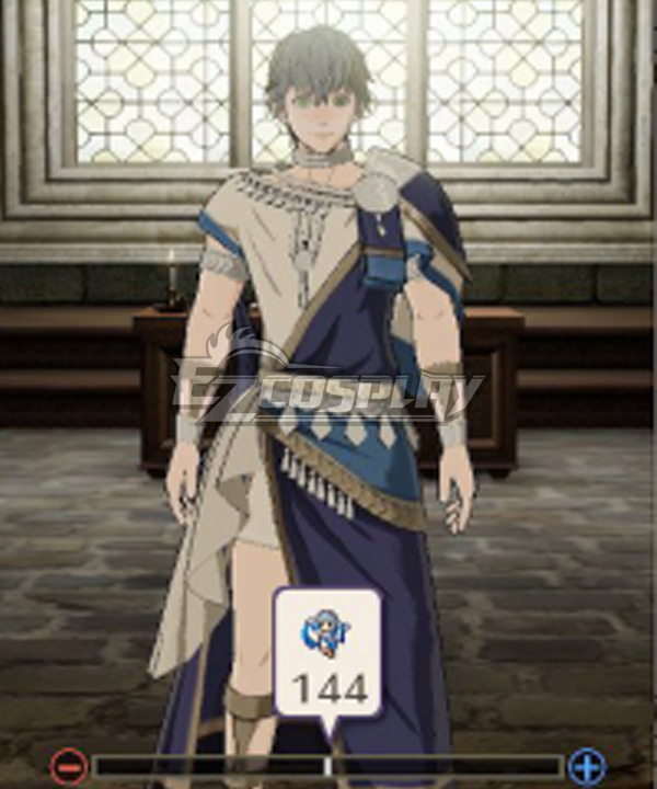 Fire Emblem: Three Houses Ashe Ubert Cosplay Costume