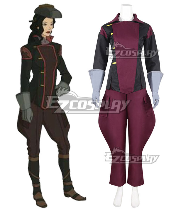 Avatar The Legend of Korra Asami Sato Uniform Cosplay Costume