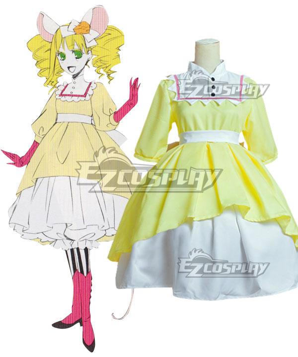 Black Butler Kuroshitsuji OVA Ciel in Wonderland Elizabeth Midford Mouse Cosplay Costume