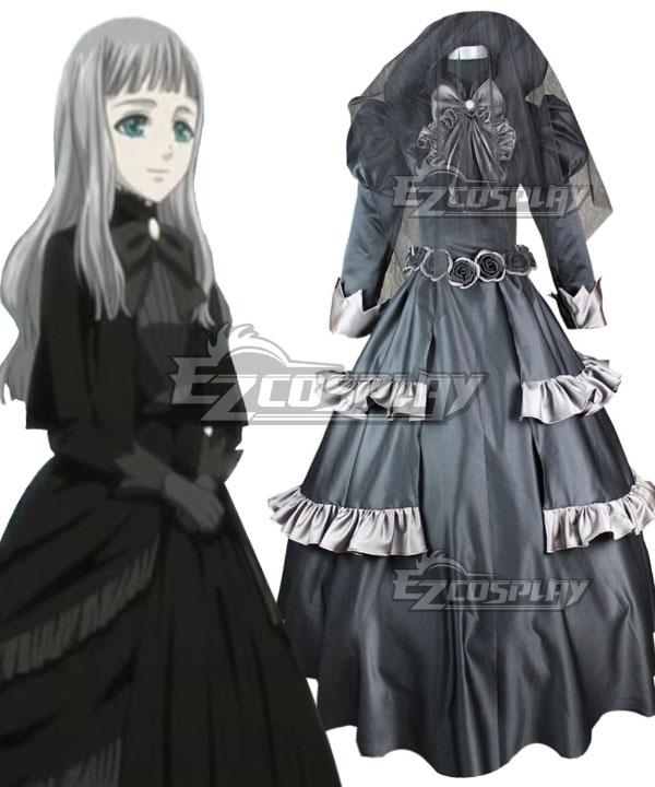 Black Butler Queen Victoria Cosplay Costume