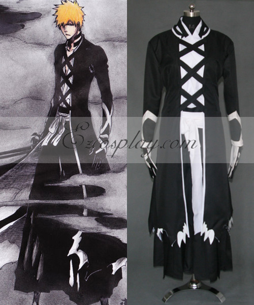 Bleach Ichigo Fullbring New Bnakai Cosplay Costume