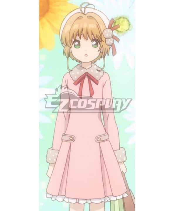 Cardcaptor Sakura: Clear Card Sakura Kinomoto EP8 Daily Cosplay Costume
