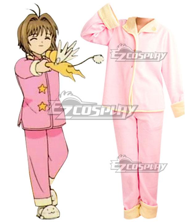 Cardcaptor Sakura: Clear Card Sakura Pajamas Cosplay Costume