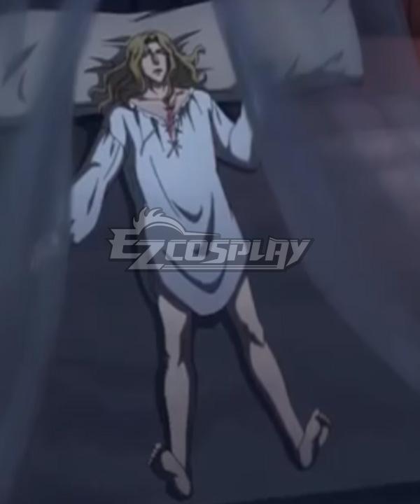 Castlevania Season 3 Netflix 2020 Anime Alucard Pajamas Cosplay Costume