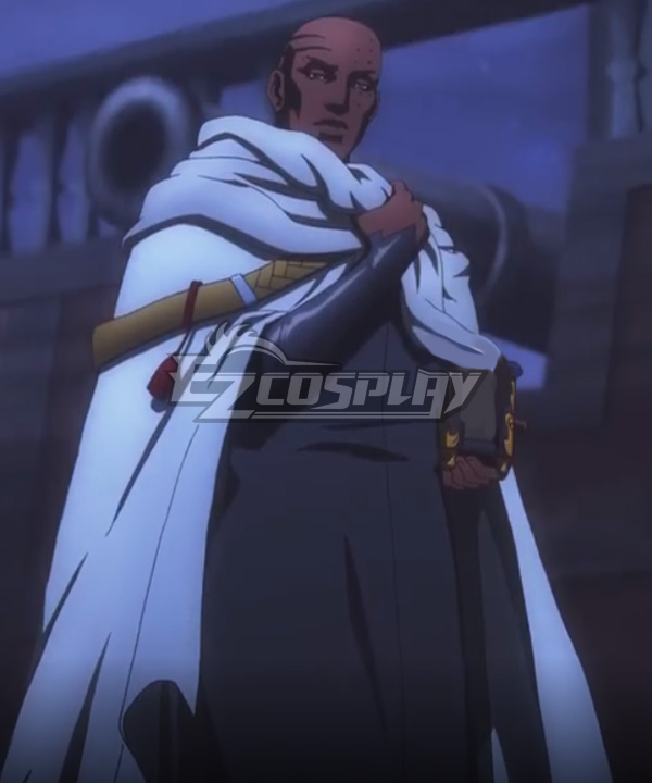 Castlevania Season 3 Netflix 2020 Anime Issac Cosplay Costume