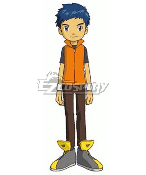Digimon Tamers Henry Wong Cosplay Costume