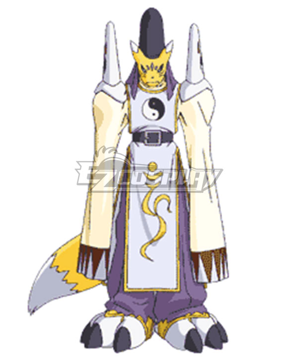 Digimon Tamers Taomon Cosplay Costume