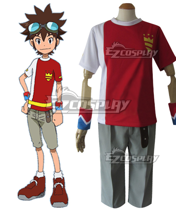 Digimon Xros Wars Taiki Kudou Cosplay Costume