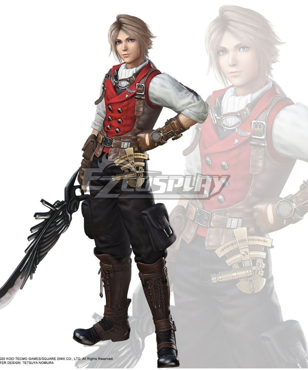 Dissidia Final Fantasy NT FF12 Vaan Sky Pirat Cosplay Costume