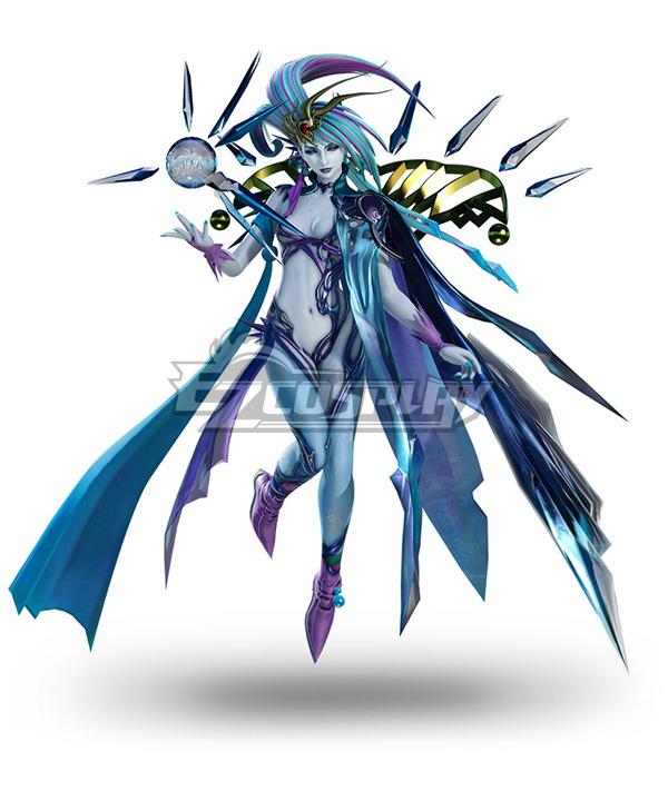 Dissidia Final Fantasy NT Shiva Fullset Cosplay Costume