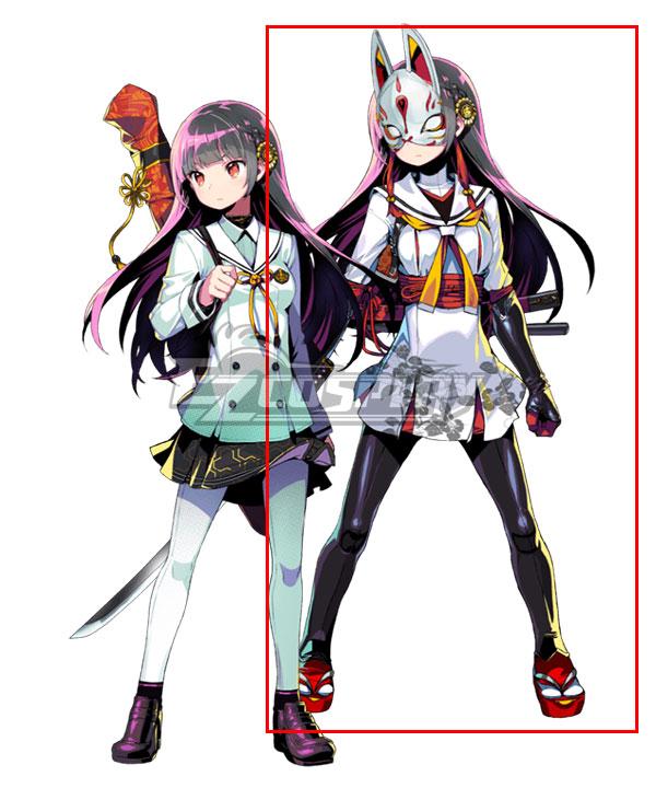 Dohna Dohna Kikuchiyo Cosplay Costume