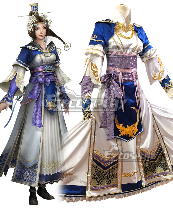 Dynasty Warriors 8 Cai Wenji Cosplay Costume