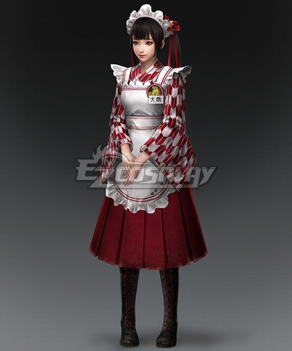 Dynasty Warriors 8 Daqiao DLC Cosplay Costume
