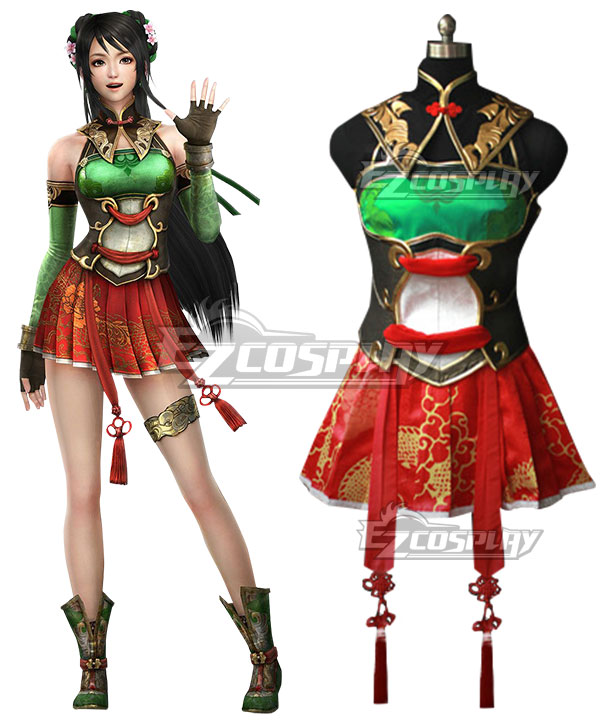 Dynasty Warriors 8 Guan Yinping Cosplay Costume